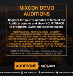 Mixcon Demo Auditions